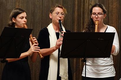 """Blockflötenensemble """"Flauto con brio"""" Werdau"""